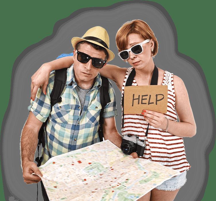 Překlad jazyků turisté